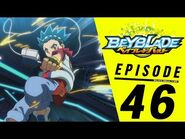 BEYBLADE BURST Episode 46- Battle for the Top! Valt vs Xander!