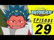 BEYBLADE BURST Episode 29- Eye on the Prize!