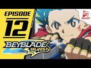 Beyblade Burst - EPISODE 12 (ENG) - Shield Crash Menace!