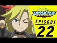 BEYBLADE BURST Episode 22- Valtryek Awakens!
