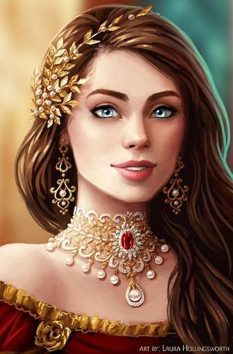 Vacker Portrait
