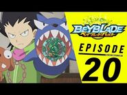 BEYBLADE BURST Episode 20- Bring it Together! Chain Launch!