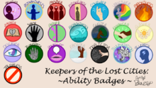 Keeper of the lost cities ability badges by blazetailx-db59ar6.png