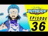 BEYBLADE BURST Episode 36- Rideout Rising!