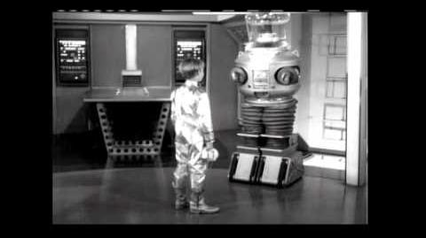 Lost in Space - Robot Presentation Video