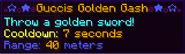 Gucci golden gash