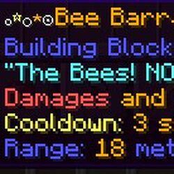 Bee Barrager