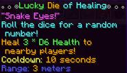 Lucky Dice Of Healing