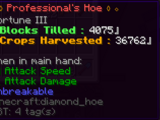 Professional (Sword/Pick/Axe/Hoe/Shears/Bow/Crossbow)