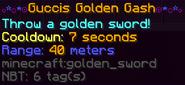 Guccis golden gash