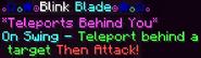 Blink blade