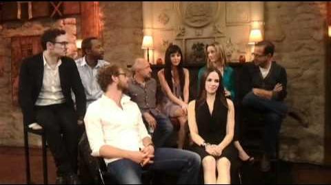 Season 2 Pre-Show cast interview (raw footage)