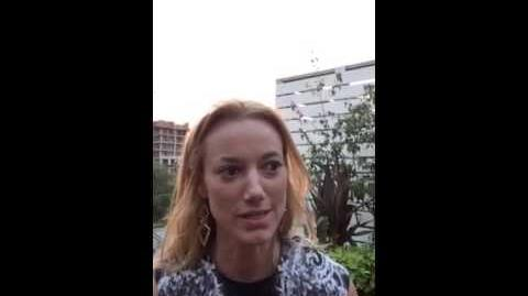 Zoie Palmer - 2015 Canadian Filmmakers Party (ACCT)