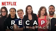 The Lost in Space Cast Recaps Season 1 Netflix