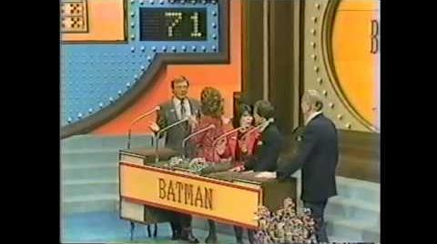 Family Feud Batman Vs. Lost in Space
