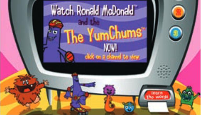 McDonald's YumChums TV commercials (2004)
