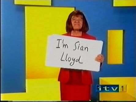 "Lost ITV1 ""I'm Sian Lloyd"" ident from Harry Hill's TV Burp"