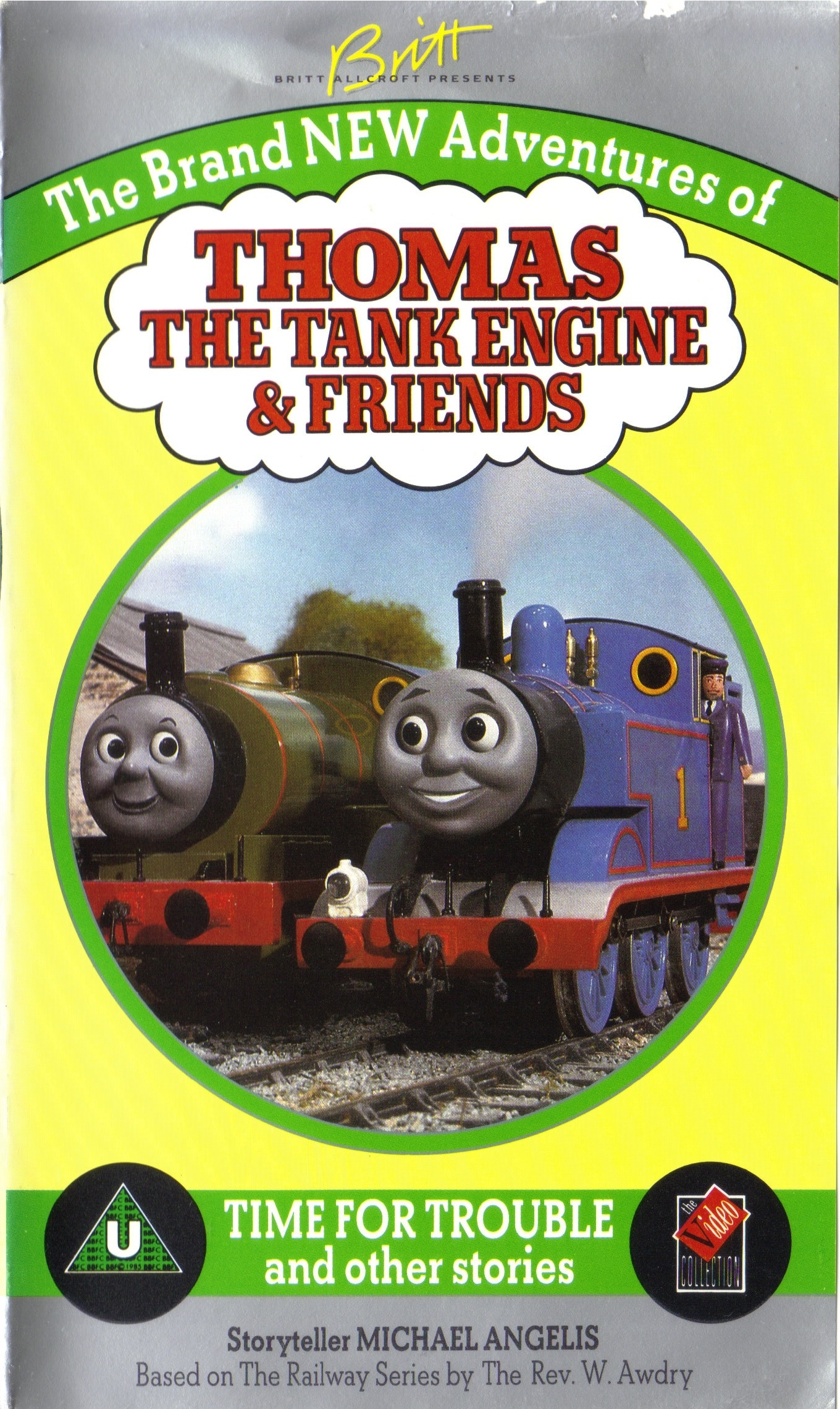 Thomas And Friends Season 3 (found Michael Angelis Early narrations, 1991)