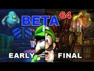 Beta64 - Luigi's Mansion -Revisited-