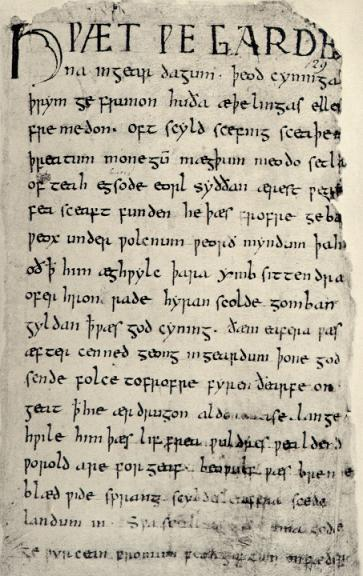 Beowulf (8th-11th Century Poem; Missing Excerpts)