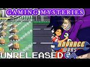 Gaming Mysteries- Advance Wars 64-64 Wars (N64) UNRELEASED