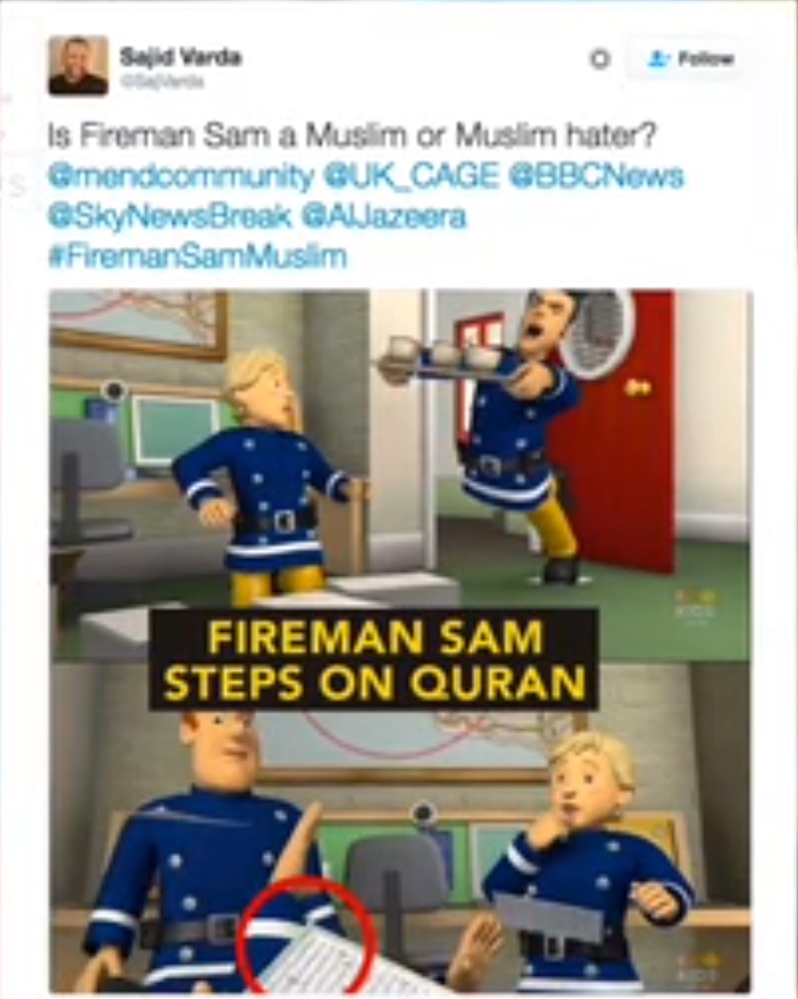 Fireman Sam - Troubled Waters(Rumoured Arabian,Edited Episode;Existence Unconfirmed)