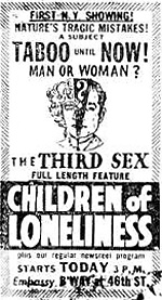 Children of Loneliness (Lost 1937 Film)