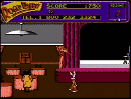 Who Framed Roger Rabbit (1989 NES Game Hotline Message)