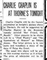 Charlie Chaplin's Lost Works