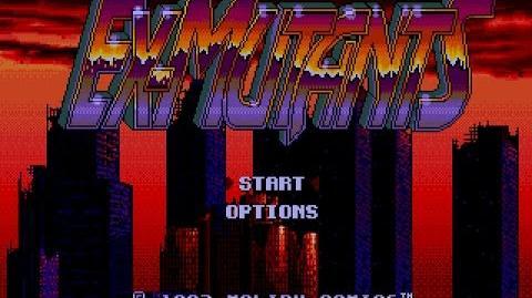 Ex-Mutants(lost Australian release)