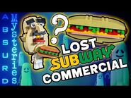 Search for the Lost Subway Commercial- Absurd Mysteries w- Baron von Brunk