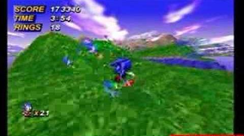 "Sonic X-treme - Unreleased Sega Saturn game ""Nights version"""
