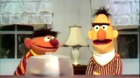 Svenska Sesam Ernie och Bert förklarar före och efter
