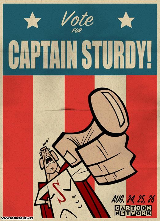 Captain Sturdy (2001 Rare Cartoon)