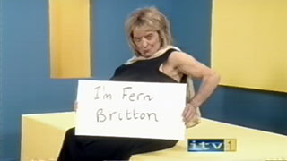 "Lost ITV1 ""I'm Fern Britton"" ident from Harry Hill's TV Burp"