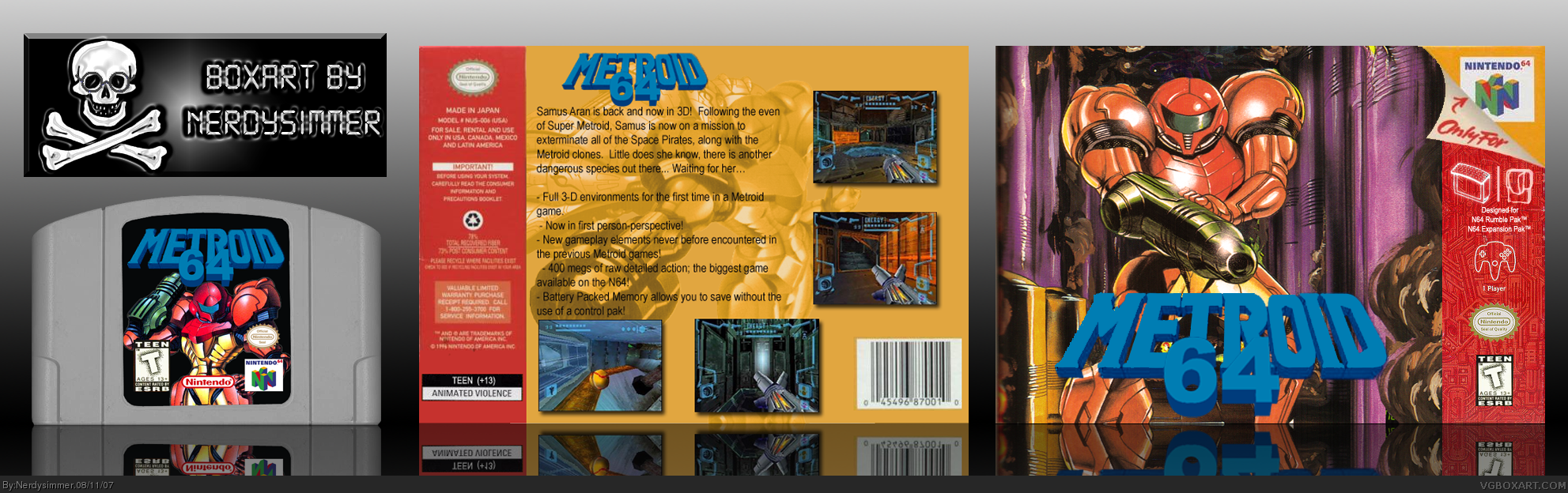 Metroid 64 (unreleased game)