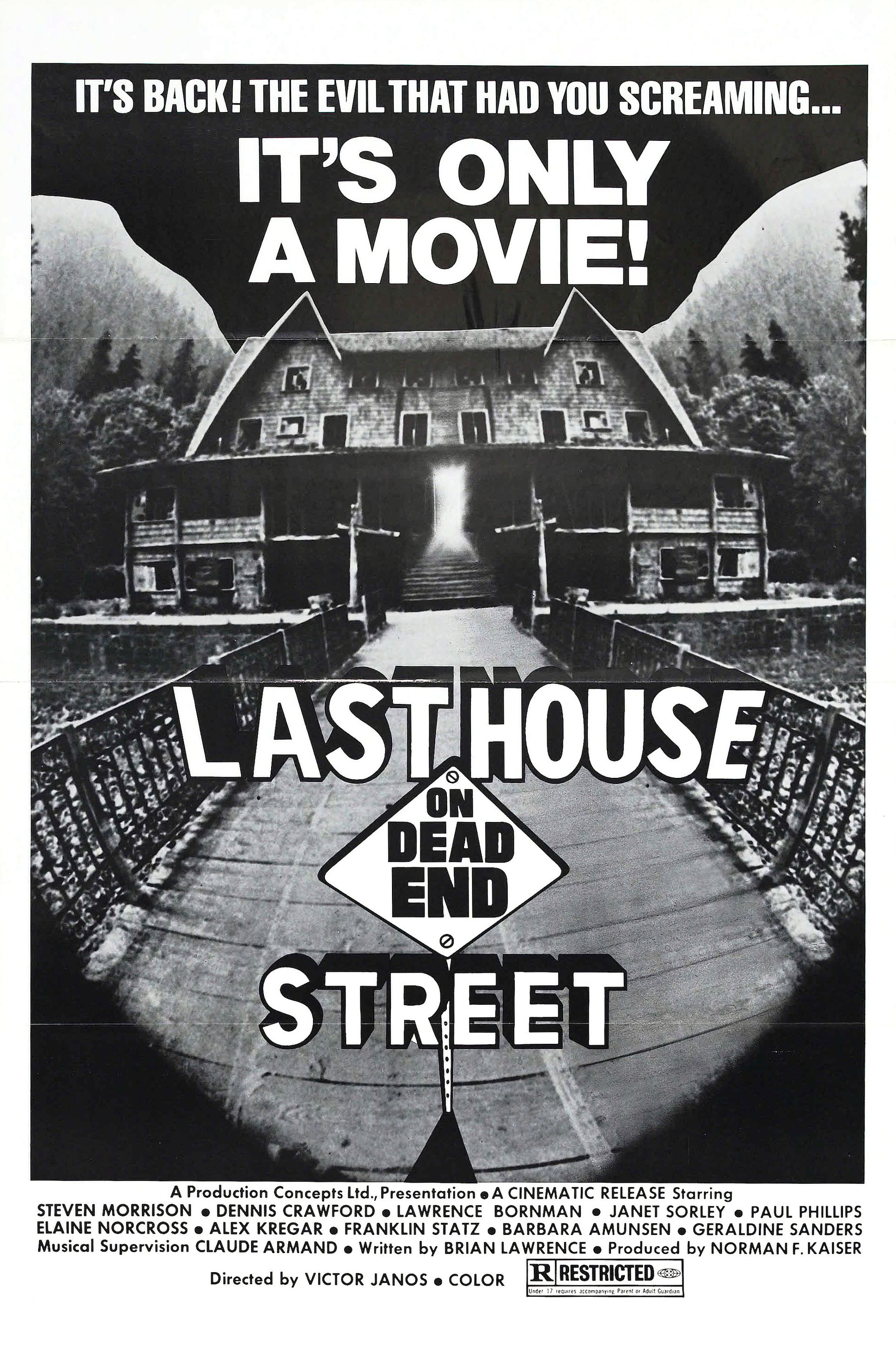 "Last House on Dead End Street (3-Hour 1974 ""The Cuckoo Clocks of Hell"" Cut)"