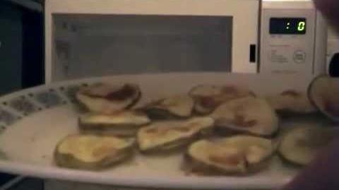 Ashens: Microwave Crisp Maker Review (found original audio)