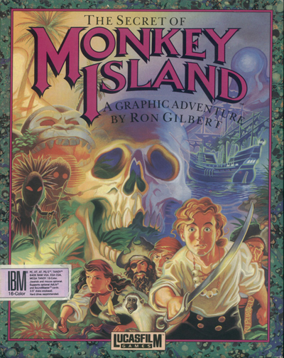 The Secret Of Monkey Island (Cut Content; 1990)
