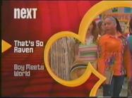 Disney Channel Bounce era - That's So Raven to Boy Meets World