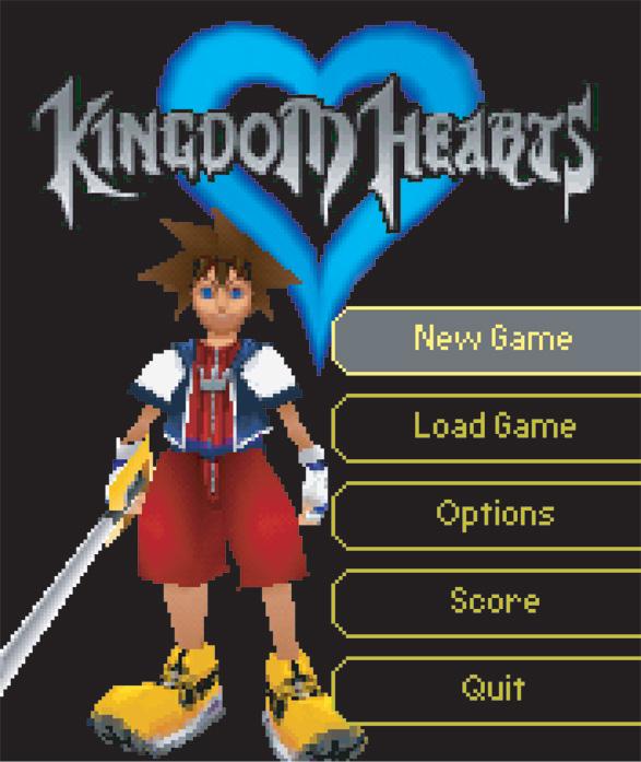 Kingdom Hearts V Cast (2005 video game)