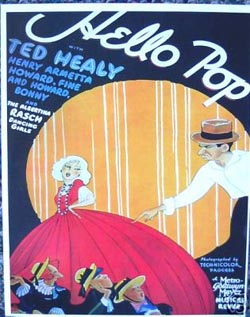 Hello Pop! (Ted Healy and his Stooges Pre-Code Film)