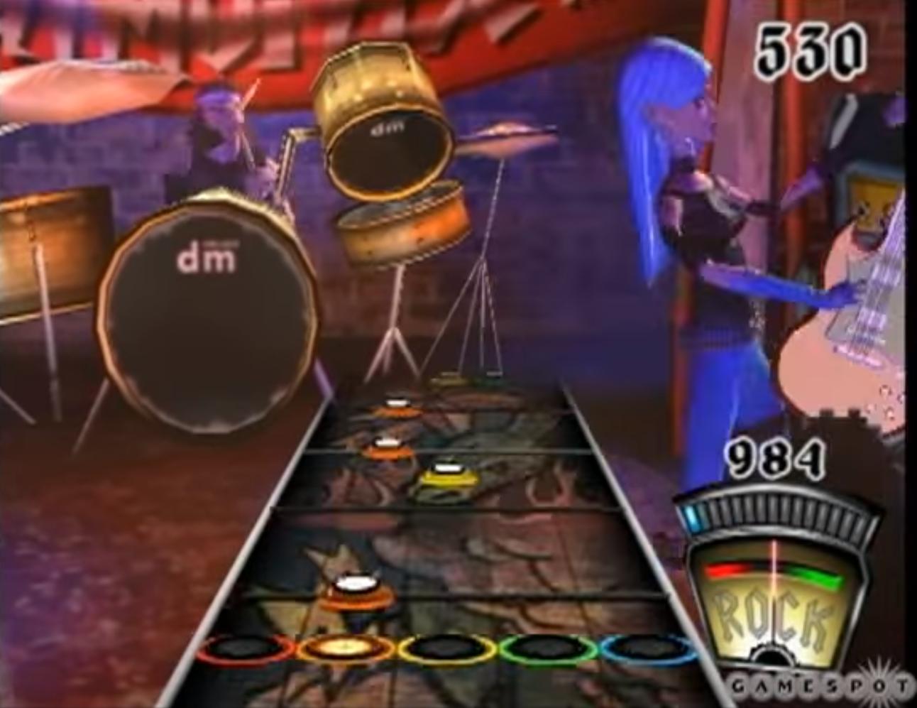 Guitar Hero 1 (PS2): Original Beta Build/Unused Beta Elements