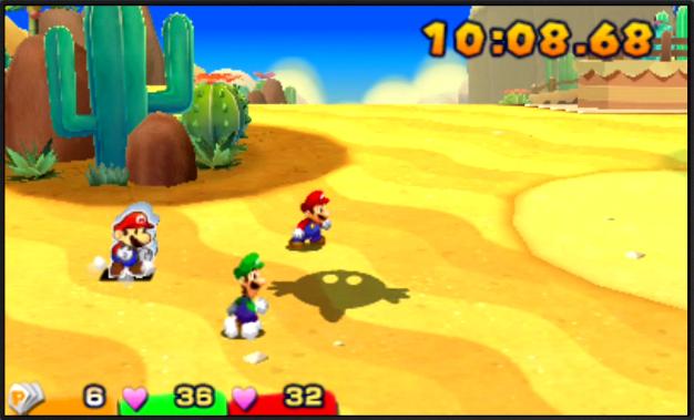 Mario & Luigi: Paper Jam (First Draft)