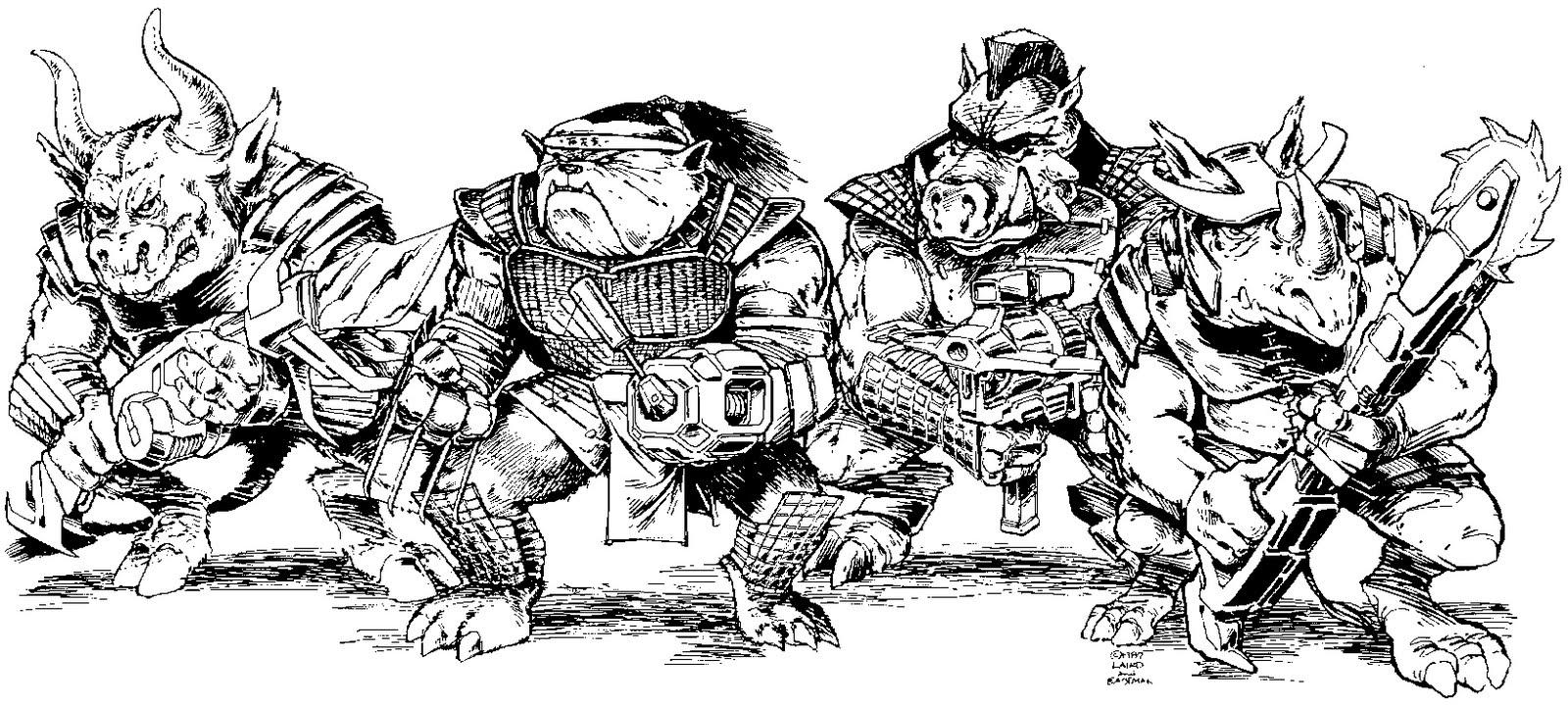 Playmates Teenage Mutant Ninja Turtles (Unproduced 1988-1994 Action Figures)