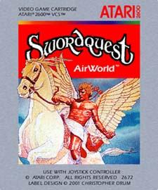 Swordquest: Airworld (Unreleased 1980s Atari 2600 Game)