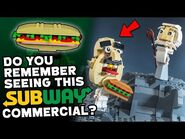 Lost Subway Commercial • LEGO Reenactment Segment