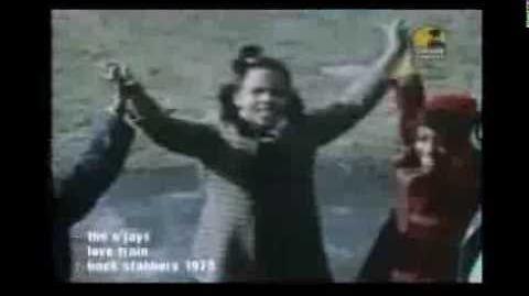 "The O'Jays ""Love Train"" Music video (Found Music Video, circa 1973)"