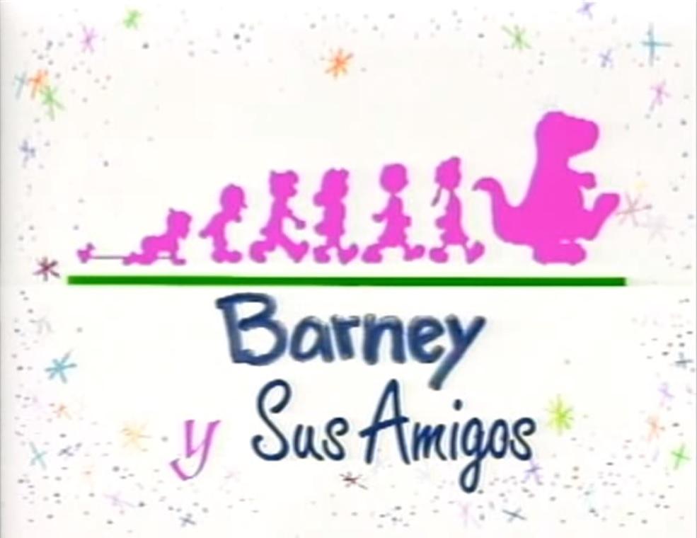 Barney & Friends Season 1-6 (Partially Found Latin Spanish Dub)