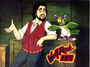 Wolf Rock TV (lost animated series; 1984)